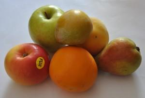 Frutas: complejo vitamínico natural.